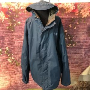 Men's Under Armour Water Repellant Wind Jacket L